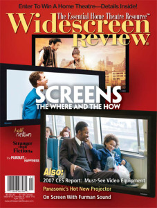 Widescreen Review Issue 119. Top selling issue cover.