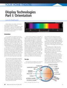 Widescreen Review Issue 120 Layout and Illustration Example
