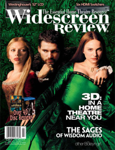 Widescreen Review Issue 133 Layout Example
