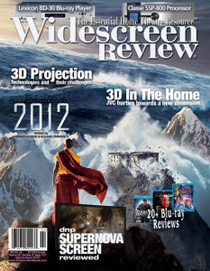 Widescreen Review Issue 147 Cover