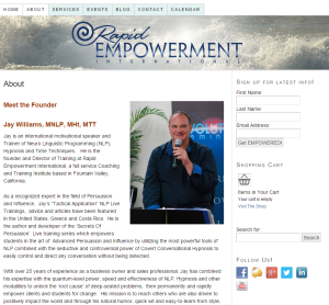 Rapid Empowerment branding and web design