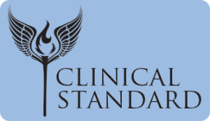 Clinical Standard branding and logo