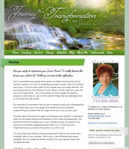 Jade Elizabeth web design