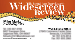 Widescreen Review Business Card