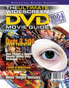 Ultimate Widescreen DVD Movie Guide Cover, the highest selling DVD Movie Guide in the world.