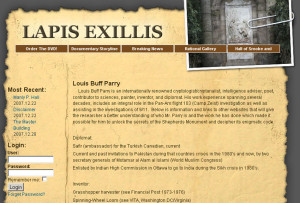 Lapis Exillis film web design and programming