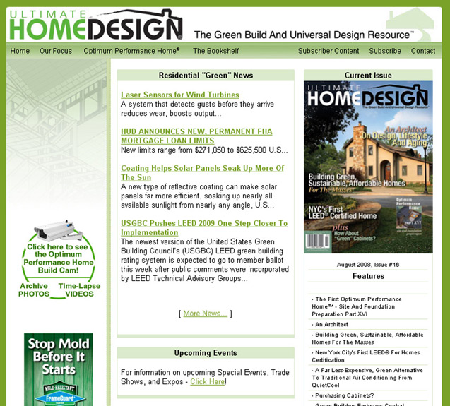 Ultimate Home Design Web Design